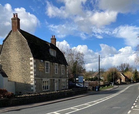 Planning Permission granted on former overflow car park at Public House in Wiltshire